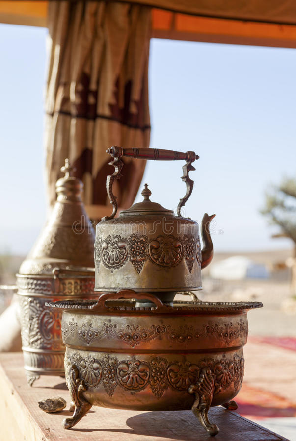 Морокканский чайник стоковая фотография