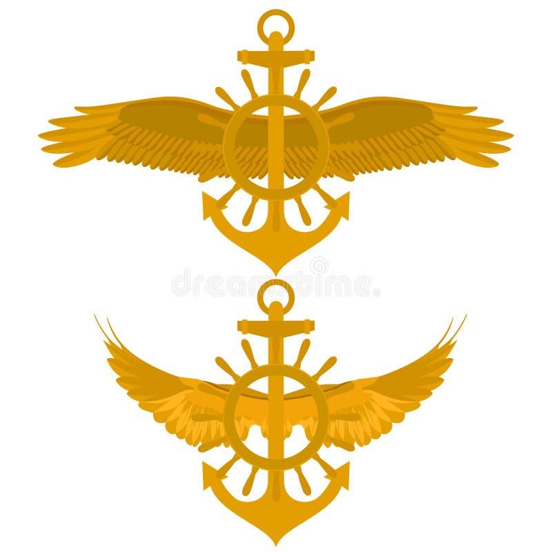 Морская икона бесплатная иллюстрация