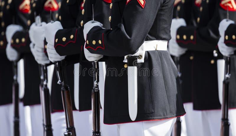 Морская пехот Соединенных Штатов стоковая фотография