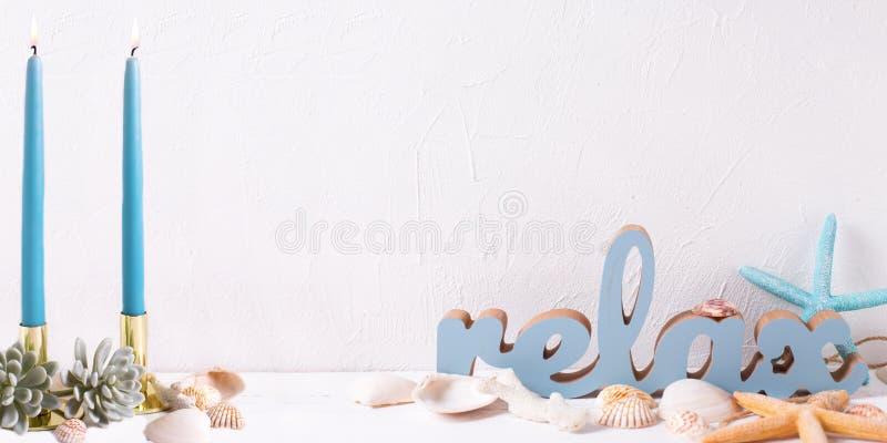 Морская предпосылка каникул стоковое фото rf