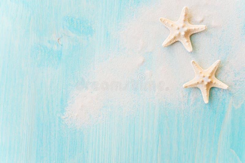 Морские звёзды и песок моря стоковые фотографии rf