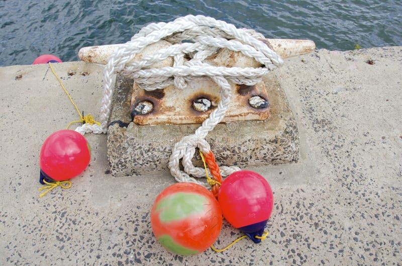 Морское зачаливание стоковые изображения rf