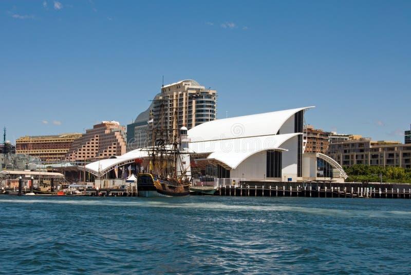 морской музей Сидней стоковое изображение