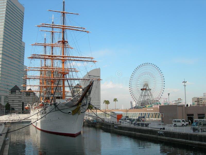 морской музей yokohama стоковые изображения