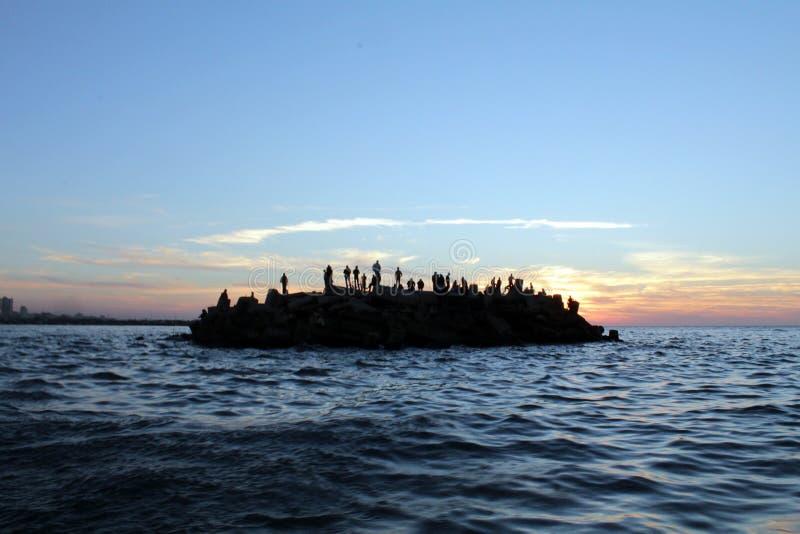 Морской порт Газа стоковое фото