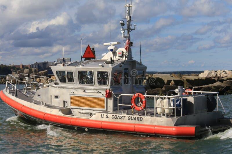 Морской сторожевой катер прибрежного дозора стоковое изображение