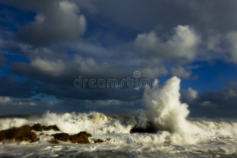 моря бурные стоковая фотография rf