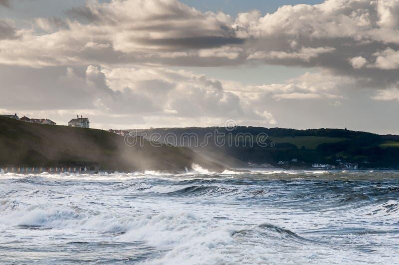 моря бурные стоковые изображения rf