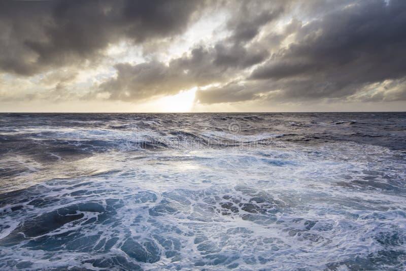 моря бурные стоковое изображение