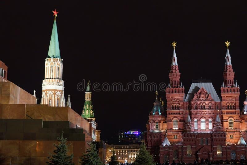 Москва, красная площадь стоковая фотография