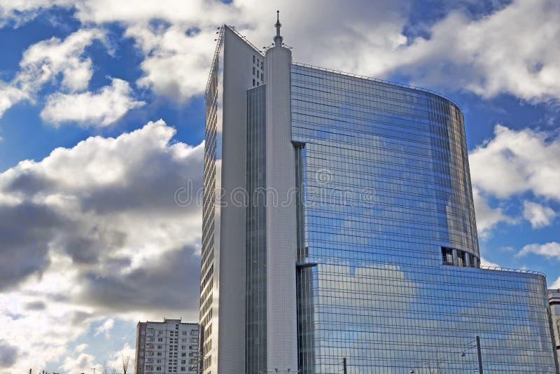 Москва, Российская Федерация - 21-ое января 2017: Размещайте в Transf стоковые фото