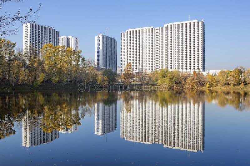 Москва, Россия, гостиничный комплекс Izmailovo стоковое изображение rf