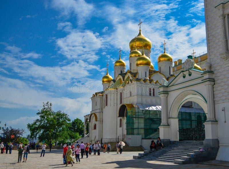Москва, Россия, Кремль, церковь низложения Натальи и Грегори, XVI века стоковая фотография rf