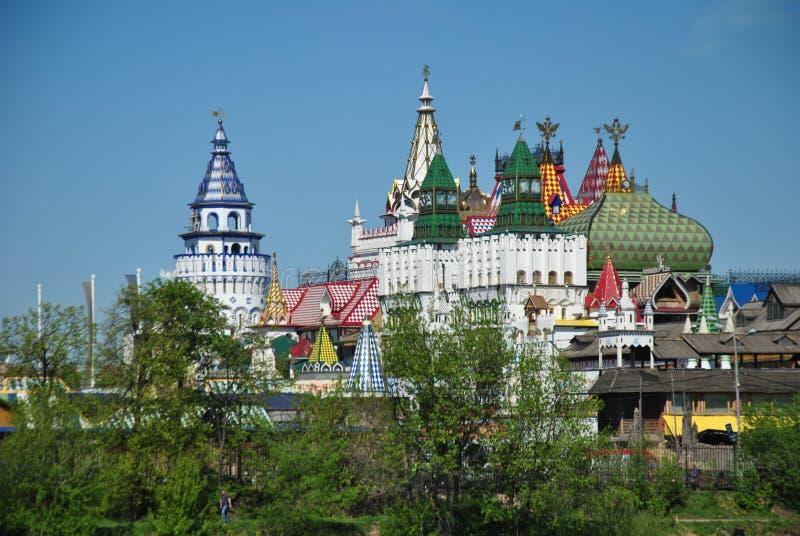 Москва, vernisage в Izmaylovo стоковые фото