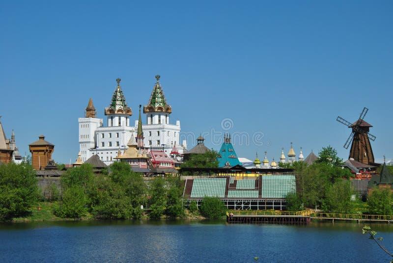 Москва, vernisage в Izmaylovo стоковые изображения