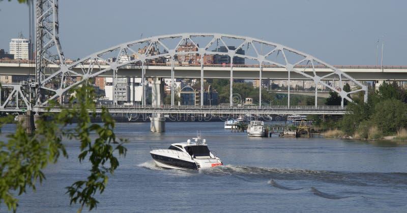 2 моста на реке Дон стоковая фотография