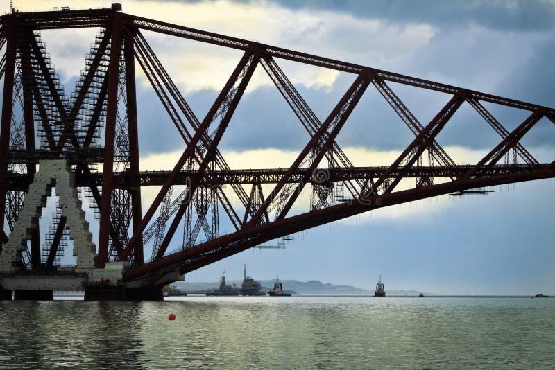 моста юг вперед queensferry стоковое изображение rf
