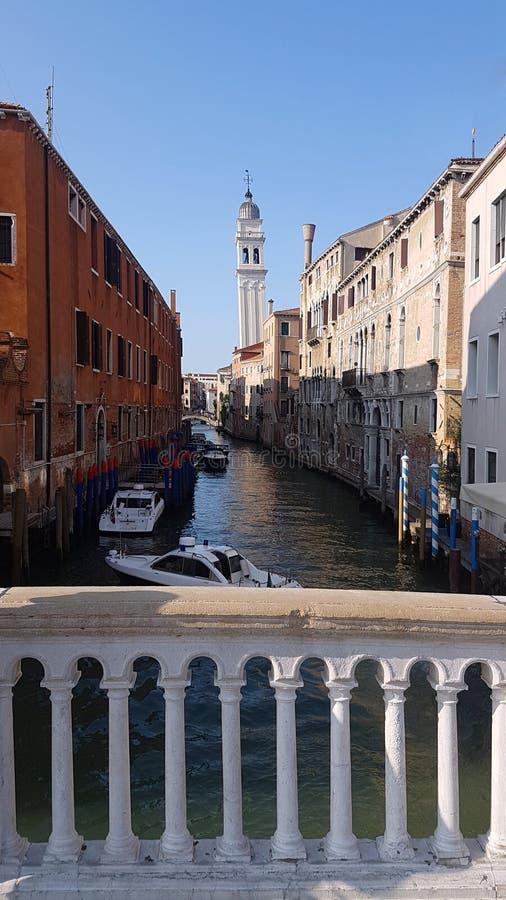 Мосты в Венеции стоковое фото