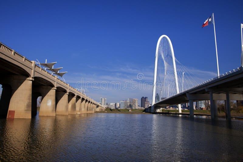 Мосты Далласа стоковые изображения