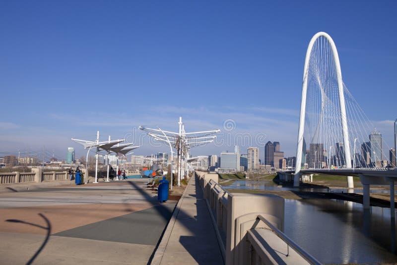 Мосты Далласа стоковые фотографии rf
