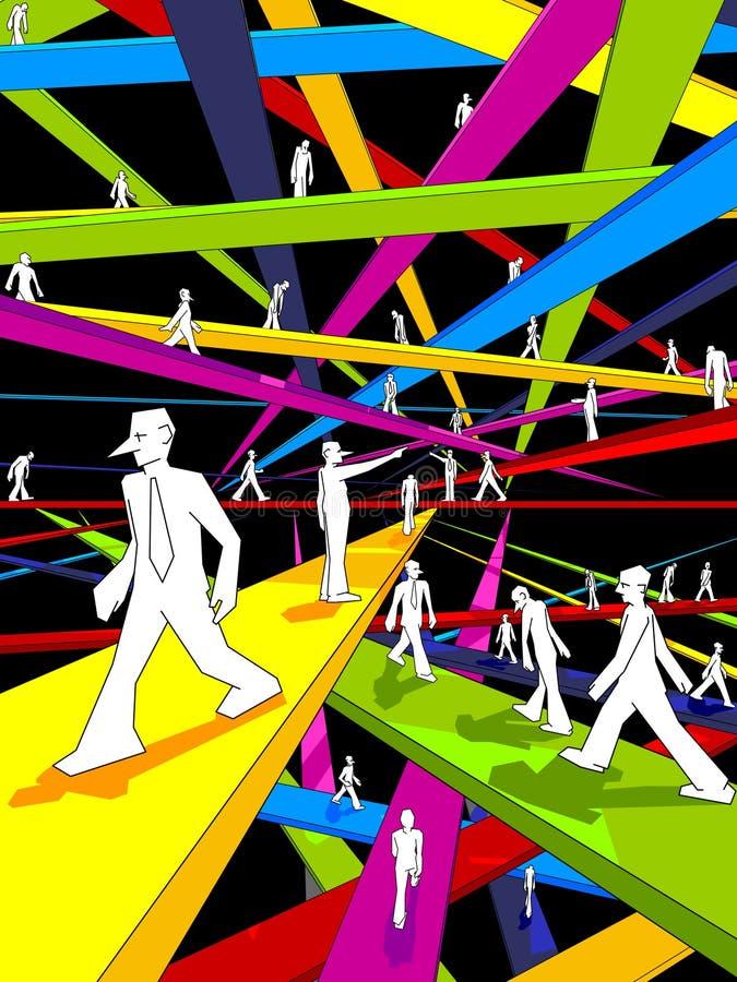 мосты иллюстрация вектора