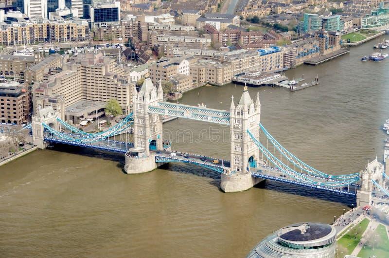 Мост башни, Лондон, Великобритания стоковые фотографии rf