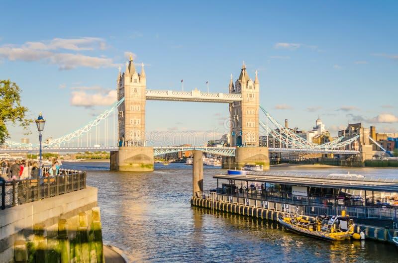 Мост башни, Лондон стоковая фотография
