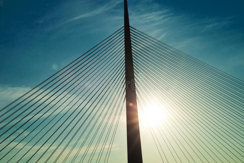 Мост Белград стоковое фото