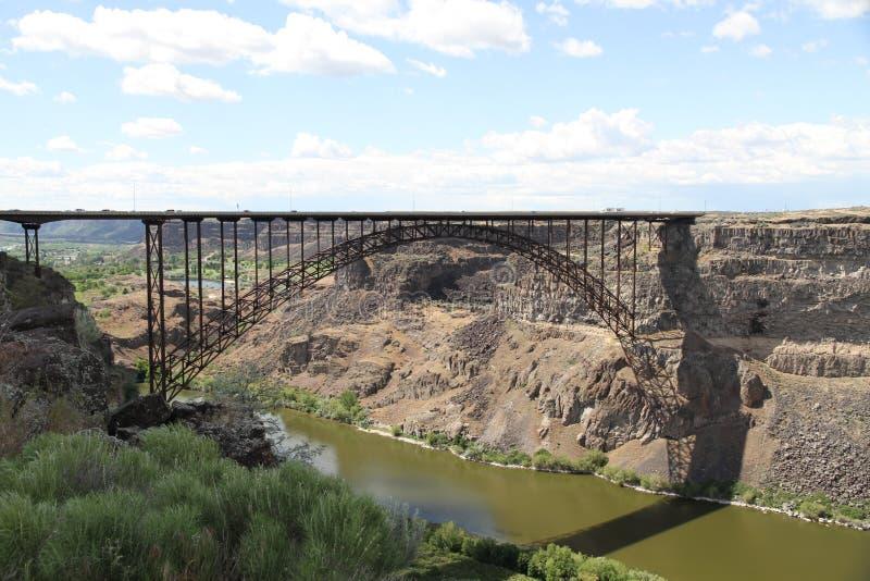 мост богато украшенный стоковая фотография rf
