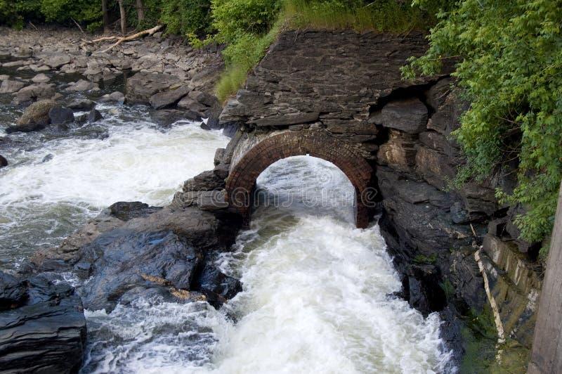 мост-водовод старый стоковые изображения