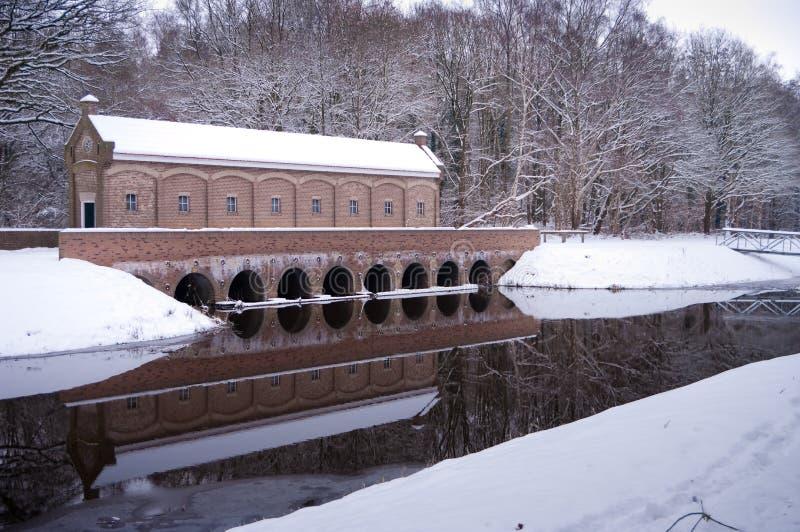 мост-водовод стоковые фото