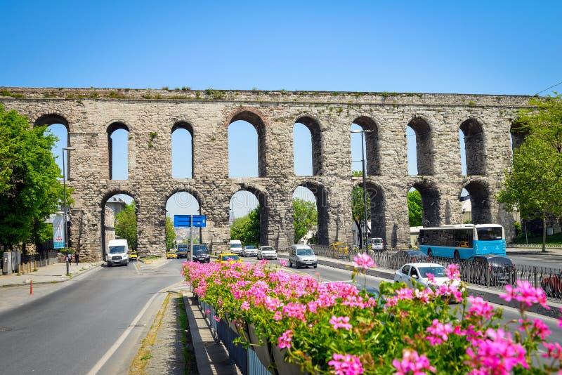 Мост-водовод Valens стоковая фотография rf