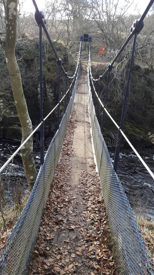 Мост ворота стоковое изображение rf