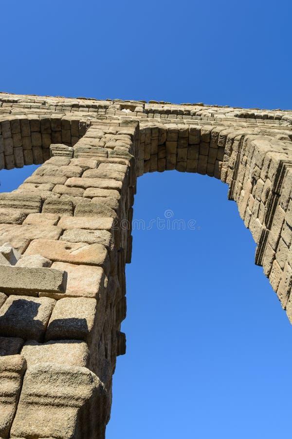 Мост-водовод Испания Сеговии стоковые изображения