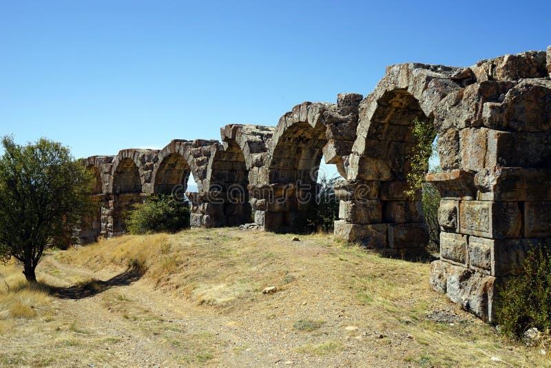 мост-водовод римский стоковые изображения