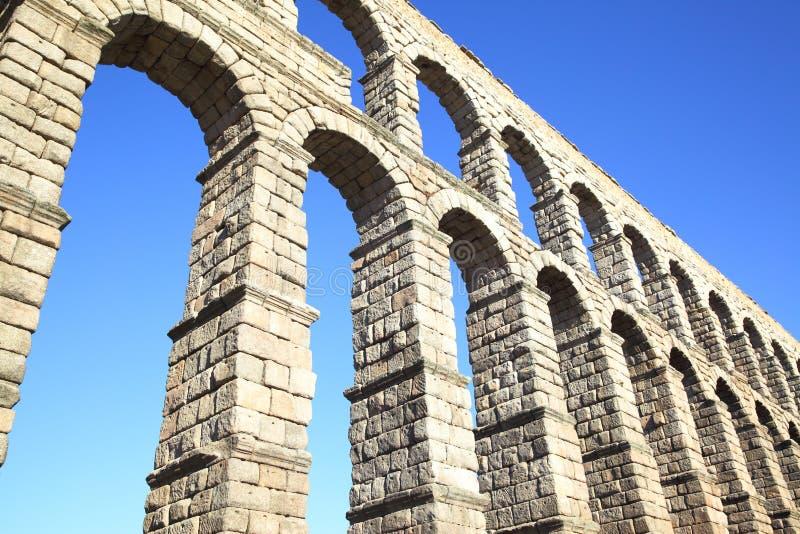 мост-водовод римский segovia стоковое фото rf