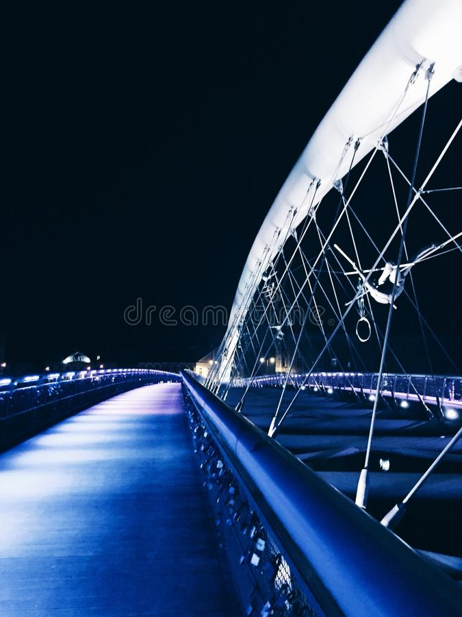 Мост в Кракове стоковая фотография rf