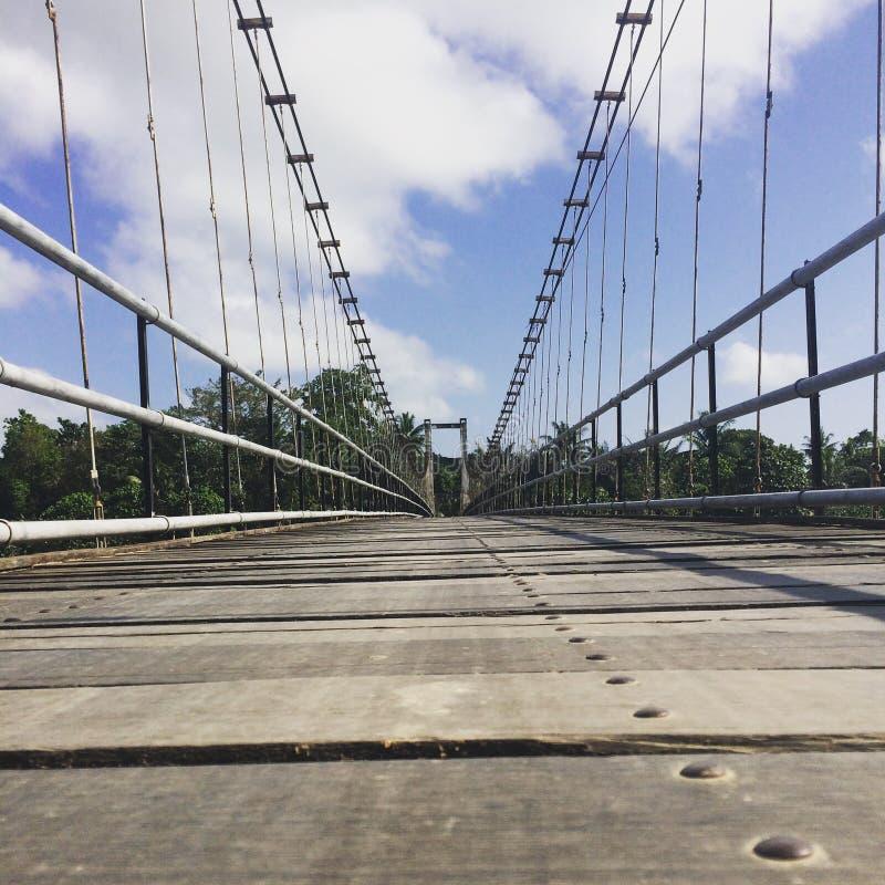 Мост в моей деревне стоковое фото rf