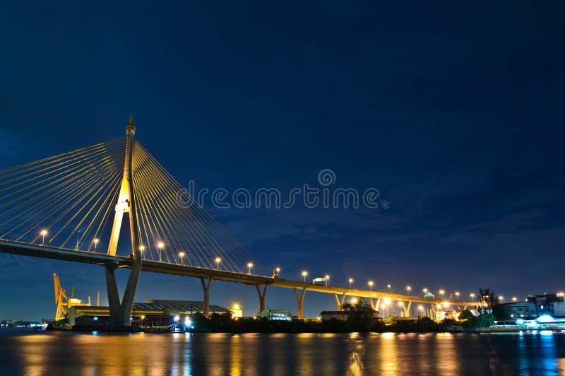 Мост в Таиланде стоковые изображения