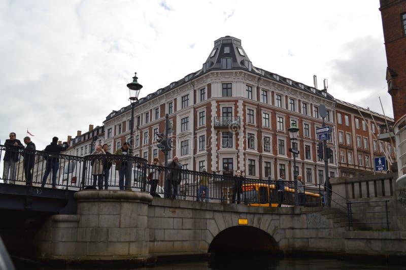 Мост в copenhagen стоковая фотография rf