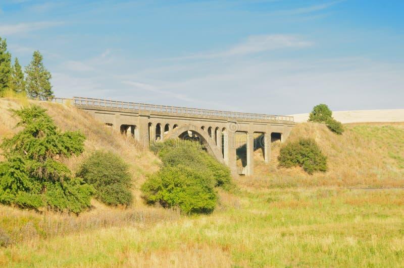 Мост в Palouse стоковая фотография