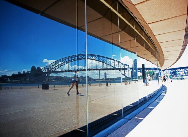 Мост гавани Сидней стоковые фото