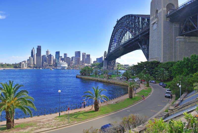 Мост гавани Сиднея, Австралия стоковая фотография rf