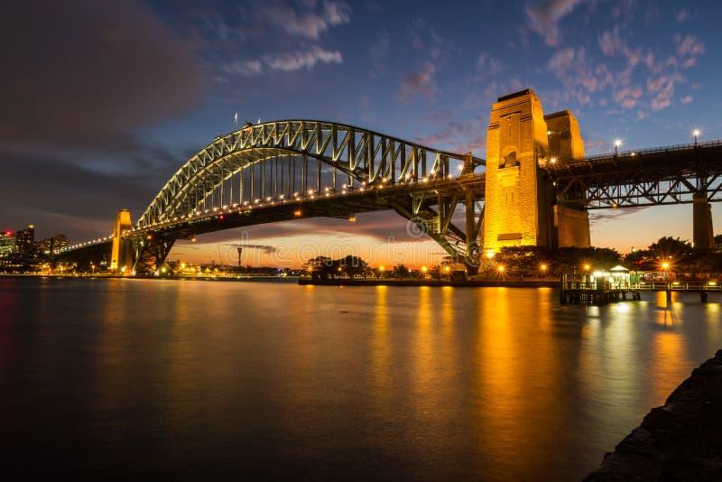 Мост гавани Сиднея стоковое изображение