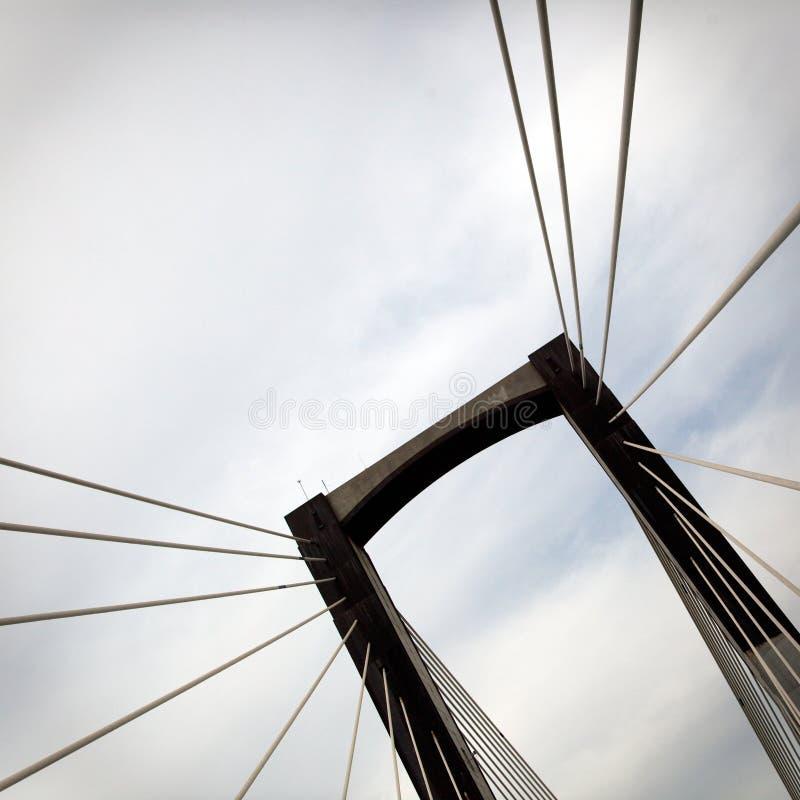 мост детализирует подвес стоковое фото rf