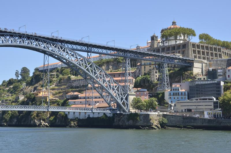 Мост Дон Луис стоковые изображения rf
