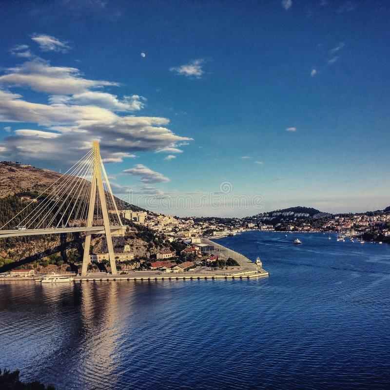 Мост Дубровник стоковая фотография