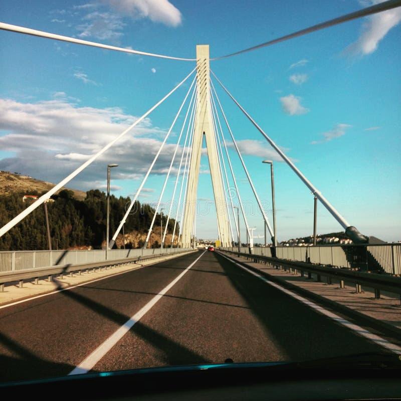 Мост Дубровник стоковые изображения rf