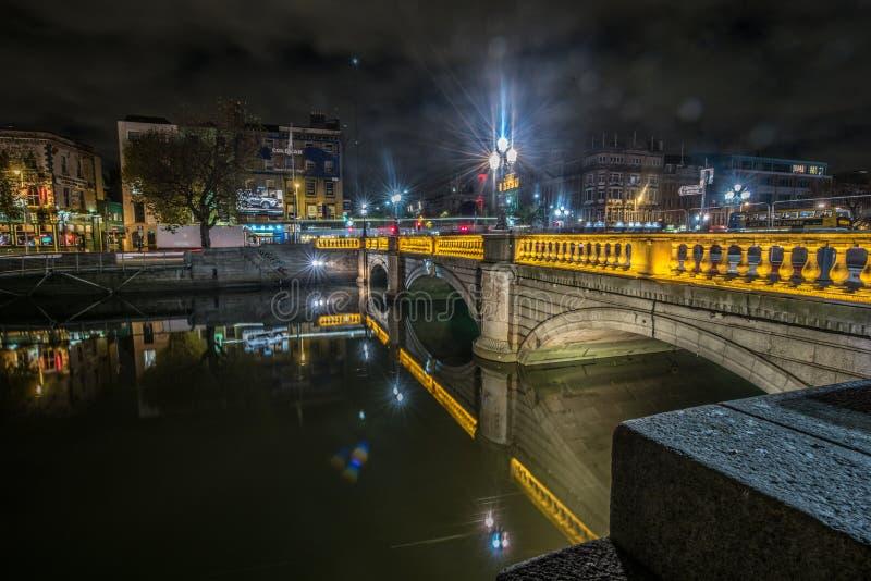 Мост Дублина стоковое фото rf
