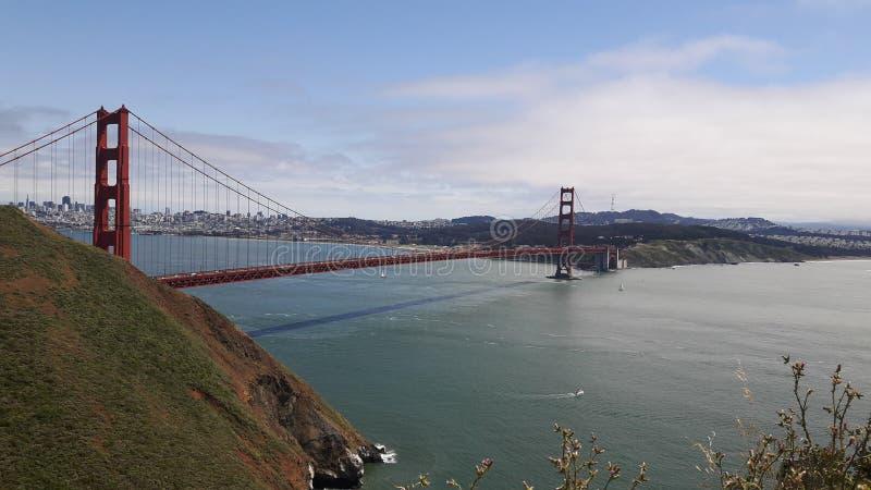 Мост золотого строба в SF, Калифорния, США стоковая фотография